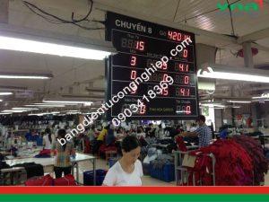 Bảng Sản Lượng Chuyền May - THAIHOA - VNA